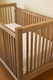 natural finish crib natural finish cribs foter bertini pembrooke