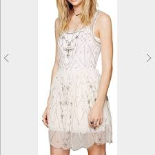 58 off free people dresses u0026 skirts free people sheer beaded