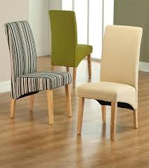 Patterned Dining Chairs Fabric Dining Chairs Pterodactyl Me