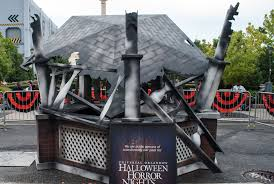 halloween horror nights eddie halloween horror nights construction update ride vine