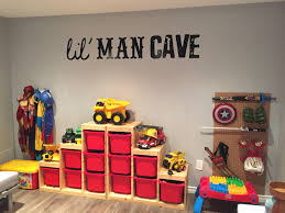 our boys playroom it really is their lil man cave top toys for