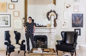 one kings lane home decor tour sara ruffin costello s striking and stylish home one kings
