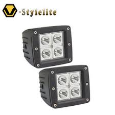 2 inch led spot light 2 x 3 inch led spot cube work lights bar driving pod offroad atv