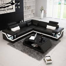 canap d angle cuir noir et blanc canapé d angle cuir noir et blanc canapé idées de décoration de