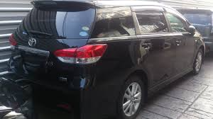 cars toyota black toyota wish 1 8s touch screen unreg 2009 black youtube