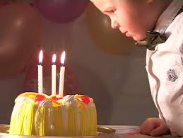 time lapse birthday candles burning in the dark stock footage