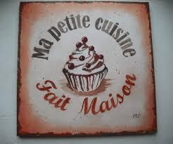 affiche deco cuisine tableau décoratif style affiche vintage pour cuisine ou salon