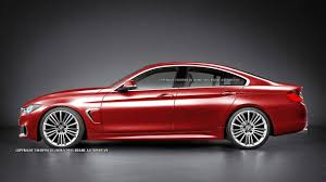 bmw gran coupe 4 series rendered bmw 4 series gran coupe