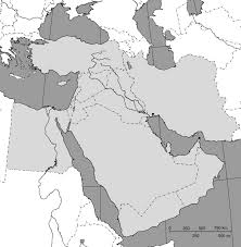 Blank Map Of Canada by Online Maps Blank Map Of Middle East
