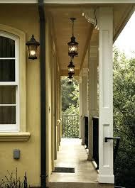 Exterior Pendant Lighting Cottagea Exterior Pendant Porch Lighting Transitional Style Home