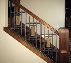 Interior Railings And Banisters Iron Design Center Nw Lighting Railings Interior
