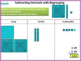 brilliant ideas of adding decimals with base ten blocks worksheets
