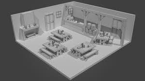 artstation old world tavern interior jennifer abbott