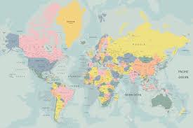 the world in pastel map mural muralswallpaper co uk design the world in pastel map mural muralswallpaper co uk
