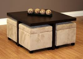 Ottoman Styles Fascinating Coffee Table With Stools Underneath Diy For Nesting
