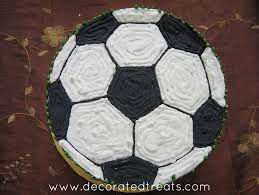 football cake easy football cake step by step