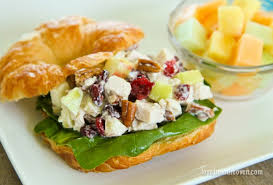 turkey salad sandwiches from the oven