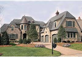 french country estate house plans home deco plans