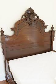 Bed Frame Craigslist Antique Bed Frame Retrofitting Our Craigslist Bed Diy Custom