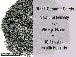 black sesame seeds a natural remedy for grey hair 10 amazing