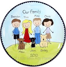 personalized family platters 9 best family plates and platters miss arty