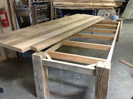 Make Your Own Reclaimed Wood Desk by Best 25 Table Bases Ideas On Pinterest Custom Glass Table Tops