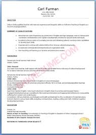 relevant experience resume sample examples of teaching resume objectives teacher resume sample free best teachers resume samples and examples you can download easily career objective seeking the position of an english teacher in an organization that