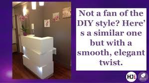 Diy Reception Desk with Incredible Salon Reception Desk Ideas
