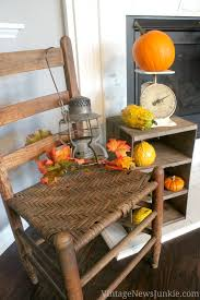 happy fall i days our vintage inspired fall home tour