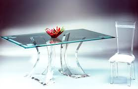 Clear Acrylic Desk Table Office Gorgeous Home Office With Acrylic Desk And Wicker Chairs