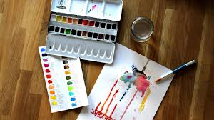 watercolor test unboxing step by step schmincke youtube