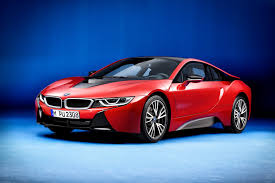 bmw i8 gold bmw i8 protonic red special edition unveiled looks just right