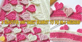 pattern of crochet stitches hearts multicolored crochet stitch pattern step by step only