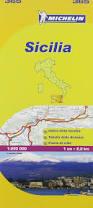 Local Map Michelin Map Sicily 365 Italy 1 200k Maps Local Michelin