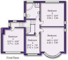 Northvale Floor Plan 4 Bedroom Detached House For Sale In Northvale Road Timperley Wa15