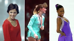 buns bobs mullets olympic skating hair by the decade today com