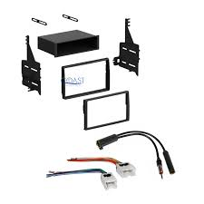 nissan altima 2005 dash parts single double din stereo dash kit harness antenna for 2005 2006