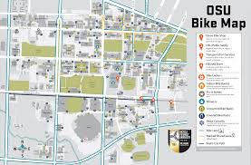 Portland Bike Map by Transportation Services