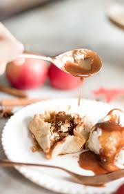 apple blossoms recipe with salted caramel sauce