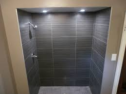i love this shower tile and lights bathroom ideas pinterest