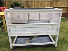 Large Rabbit Hutch Ferplast Large Cottage Rabbit Hutch In Whitley Bay Tyne And