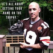 Armchair Quarterbacks 23 Best Fantasy Football Trophies And Quotes Images On Pinterest
