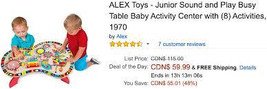 amazon alex black friday 2016 amazon canada black friday deals save 48 on alex toys u2013 junior