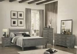 Grey Sleigh Bed Bedrooms Bargain Furniture