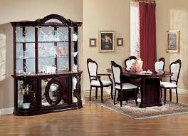 dining room glass cabinet white upholstered chairs with sparkling glass cabinet for italian