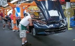 corvette manufacturer corvette assembly plant named kentucky manufacturer of the year