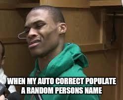 Russell Meme - russell westbrook memes imgflip