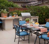 Palm Tree Patio Umbrella American Outdoor Grill Patio Tropical With Palm Tree Patio