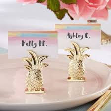place card holders gold pineapple place card holder