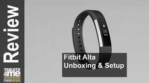 can you manually add steps to fitbit new fitbit alta unboxing and setup youtube